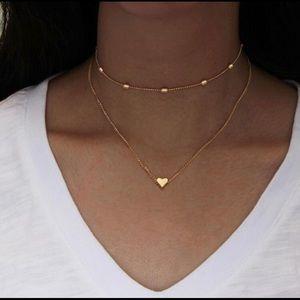 Gold Layered Choker ❤️ Necklace